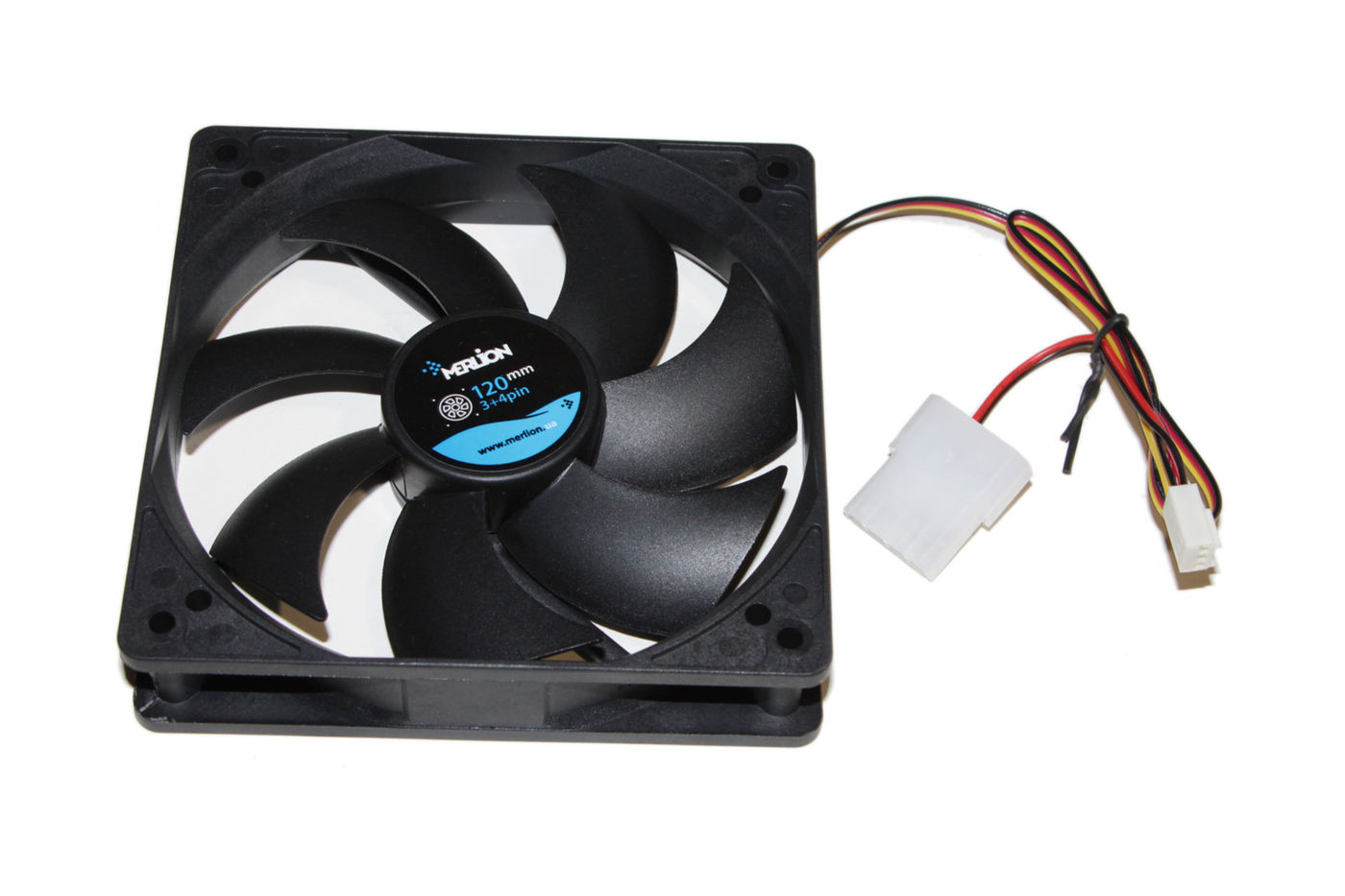 Вентилятор 120 mm Merlion 12025 DC sleeve fan 4pin - 120*120*25мм, 1100об/мин