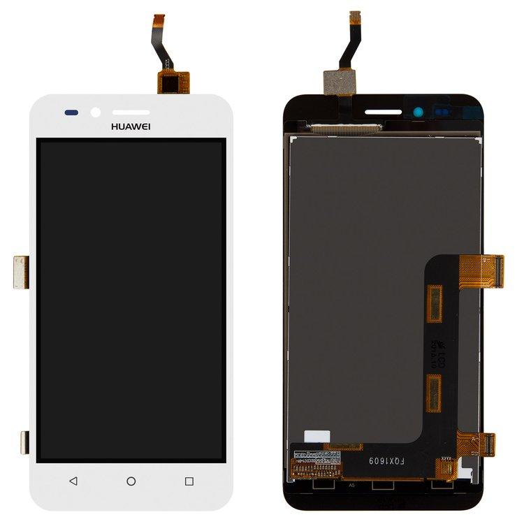 Дисплей Huawei Y3 II (2016) LUA-U03/LUA-U22/LUA-U23/LUA-L03/LUA-L13/LUA-L23 версия 3G с сенсором белый