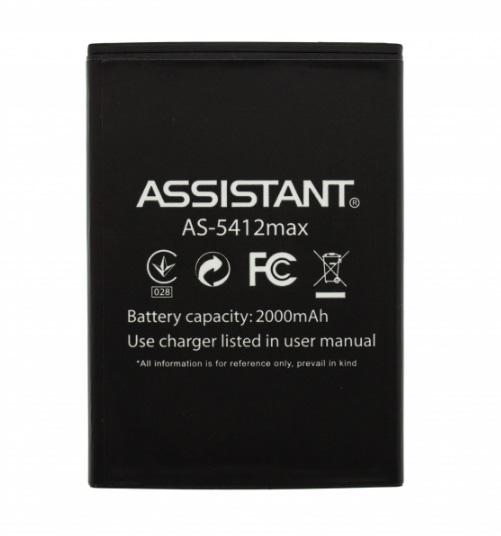 Аккумулятор Assistant AS-5412 Max 2000 mah
