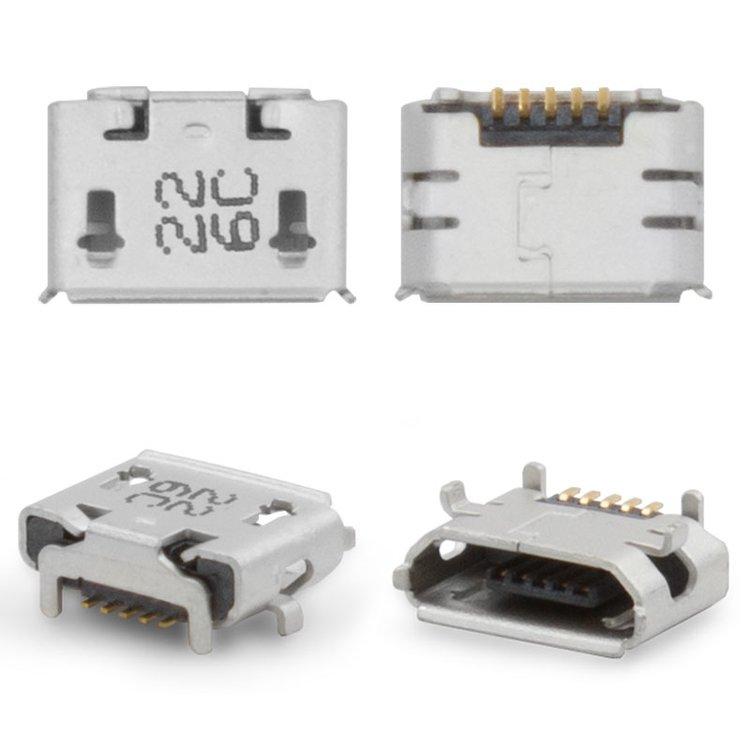 Коннектор HTC A3333 Wildfire G8 / A310 / A510 / A6363 / Evo 4G / T9292, 5 pin, micro-USB